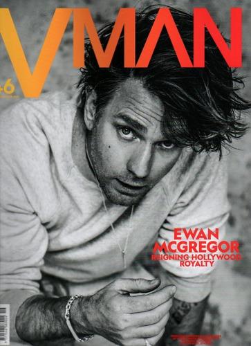 V Man -  Revista De Estilo Homem -  Ewan Mcgregor