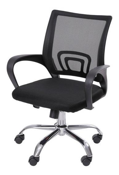 Cadeira Office Preto Com Rodizio Cds Design