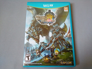 Monster Hunter 3 Ultimate Original Para Nintendo Wii U