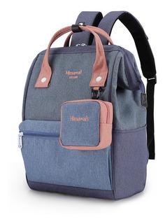 Mochila Bolso Himawari Con Monedero Ideal Notebook Varios Colores Envio Gratis