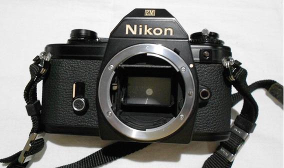 Câmera Nikon Em Analógica, Somente Corpo