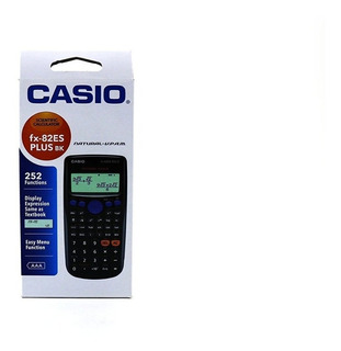 Casio Calculadora Fx82es Plus Bk