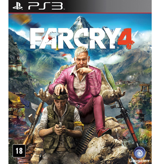 Far Cry 4 Ps3 Psn Digital Envio Hoje Jogos De Mundo Aberto