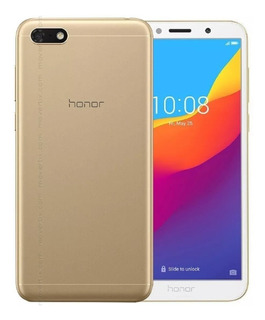 Celular Barato Libre Huawei Honor 7s 16gb Dorado + Regalo