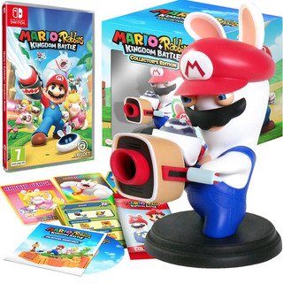 Mario And Rabbids Kingdom Battle Nintendo Switch Collector