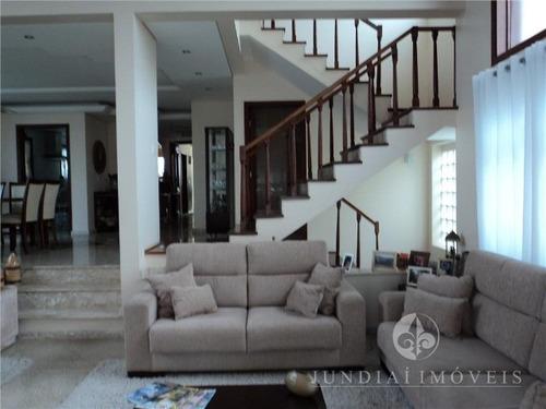 Vendo Linda E Confortável Casa No Condomínio Santa Teresa Em Jundiaí, 360 M² De A/c, Cinco Dormitórios. - Ca00130 - 2734749