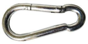 Bandola Acero Forma En 8 12 Cm Con 10 Piezas Snap Hook Obi