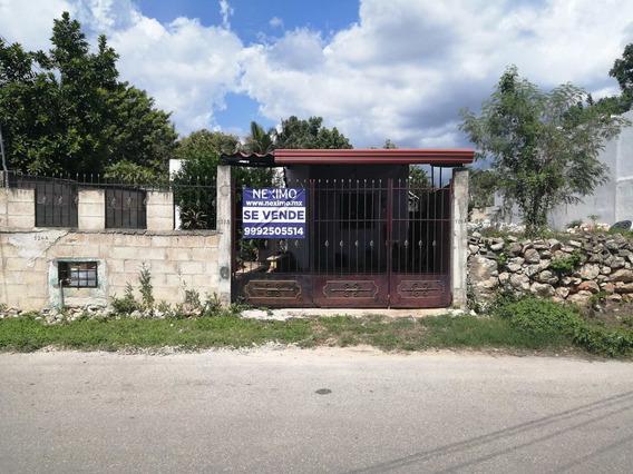 Casa Con Amplio Terreno Ideal Para Construcción De Departamento