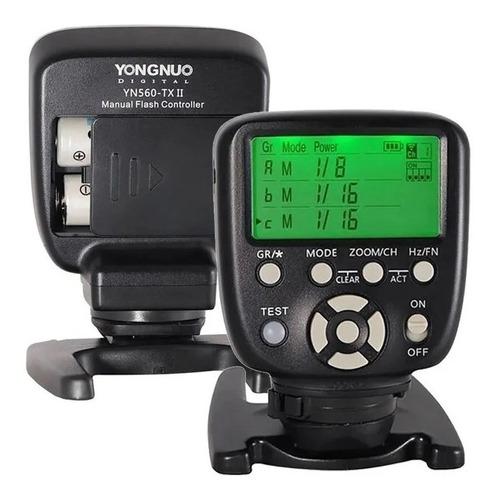 Imagem 1 de 2 de Controle Para Flash Yongnuo Yn560-tx Ii Para Câmeras Nikon