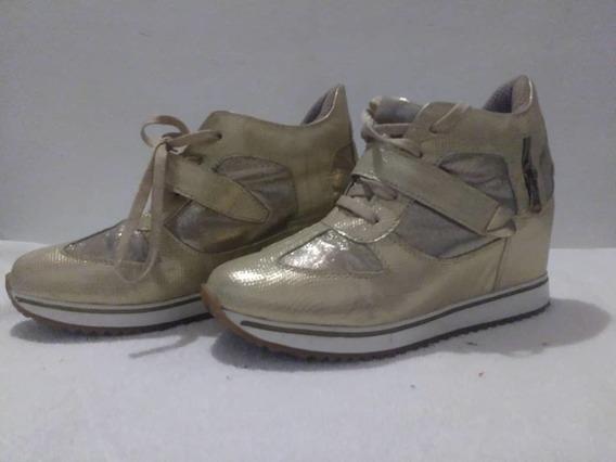 Zapatos Dama Plataforma Deportivos Colombianos Oferta
