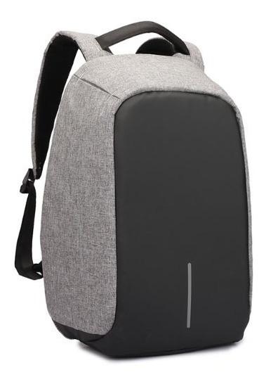 Mochila Antirrobo Porta Notebook Impermeable Acolchada Usb