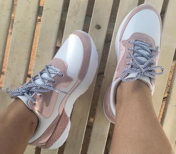 Tênis Feminino Sneaker Rosê