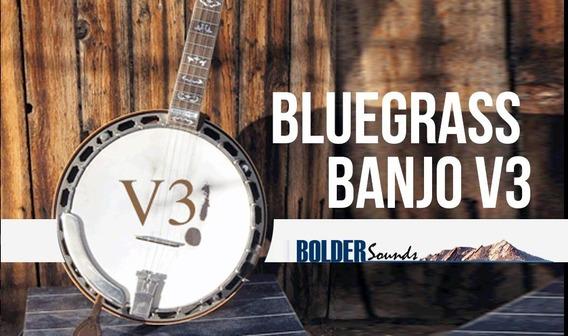 Bluegrass Banjo 3 - Bolder - Livraria Sample Para Kontakt