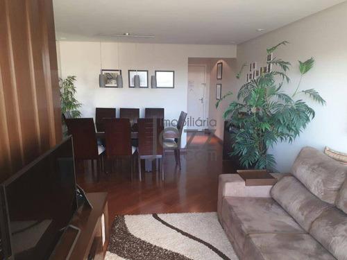 Apartamento Com 3 Quartos À Venda, 93 M² Por R$ 585.000 - Vila Santa Teresa - Santo André/sp - Ap4758