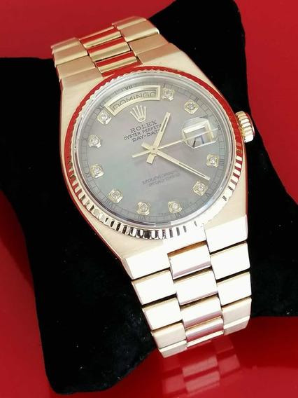 Rolex Presidente Oysterquartz Oro Solido 18k, Con Documentos