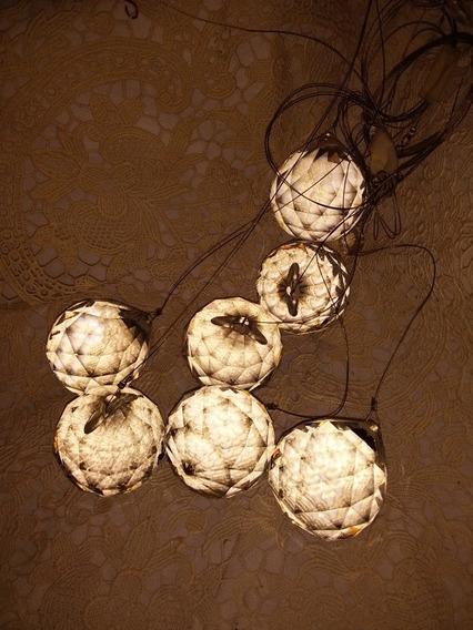 Finísimasbolas De Cristal Facetadas P/iluminación/decoracion