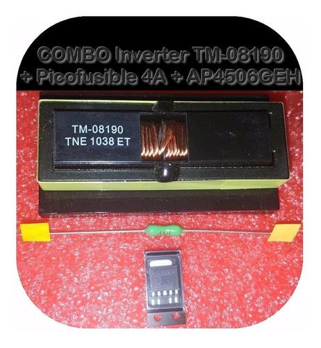 Kit Tm-08190 + Ap4506geh + Picofusible 4 A Tm08190 08190