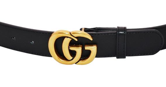 Correa Gucci Mujer Cinturón Dama 34 Mm Cg35 Sin Caja