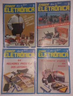 12 Revistas Saber Eletrônica (anos 80/90)