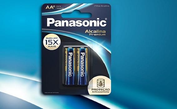 Pilha Aa Panasonic Super Premium