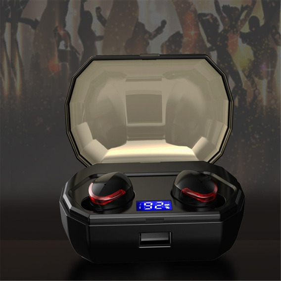 Oficial Padronização Display Digital Mini Esportes Ear Tws B