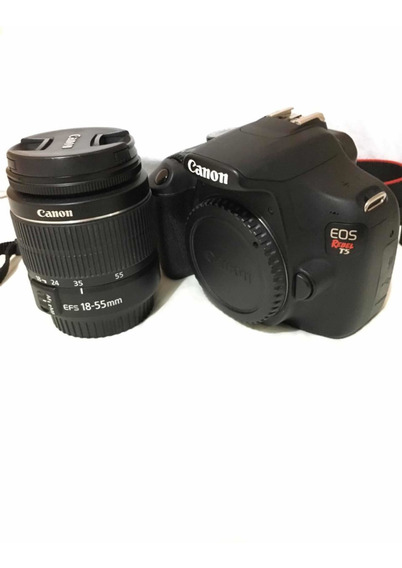 Canon T5 + Efs 18 55 Iii + Ef 50mm 1.8 Stm