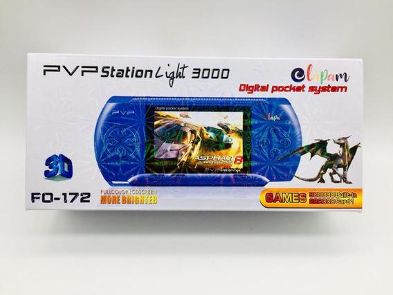 Video Game Portatil Com 2 Cartuchos 333.000 Mil Jogos Retro