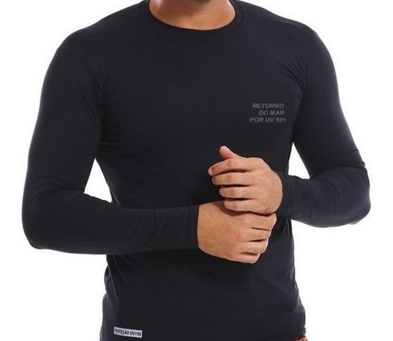 Camisas Uv50 Proteção Solar -segunda Pele Unissex