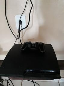 Playstation 3 Slim 4.84,hd 160gb, 10 Jogos 1 Controle