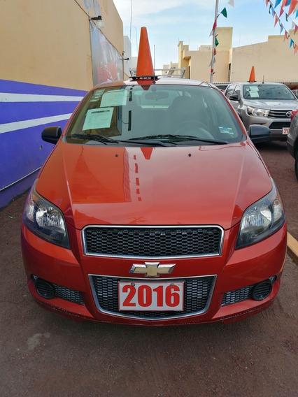 Chevrolet Aveo 1.6 Lt At Sedán 2016