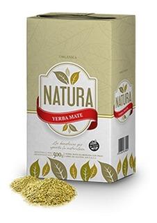 Yerba Mate Orgánica Obera Misiones Natura 1/2kg