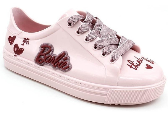 Tênis Barbie Fashion Grendene 21953 Rosa Loja Pixolé