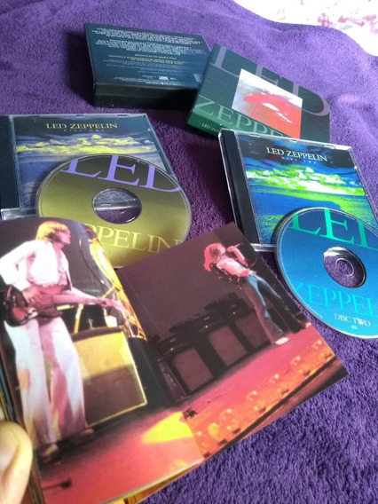 Cd Boxed Set2 Led Zeppelin Alemão Perfeito Estado