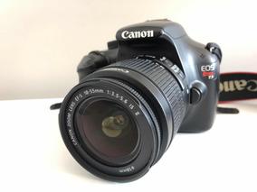Câmera Digital Canon Eos Rebel T3 Com Lente 18-55mm