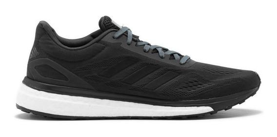 Tenis adidas Response Boost Negro Correr Running Supinador
