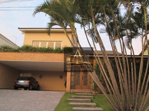 Imagem 1 de 28 de Excelente Casa À Venda Em Barueri  Residencial Dois  606 M²- Confira! - Ca2084