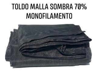 Lona 70% Sombra Toldo Carpa Malla Sombra 3.6x 5 Metros