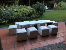 Alquiler Living Puff Mesas Carpa Gazebo La Plata
