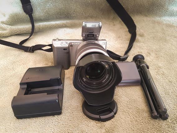 Câmera Sony Nex 5 Lente 18-55 Frete Grátis!