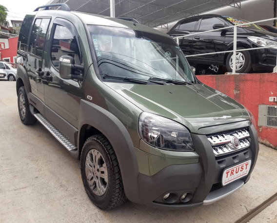 Fiat Dobló 1.8 Xingu Flex Adventure Locker 2013! Nova