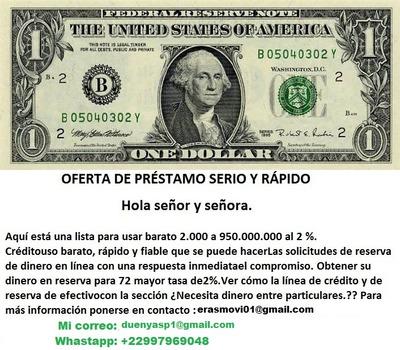 Oferta De Préstamo De 24 Horas A Honduras