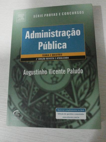 Administração Pública 2ª Ed. Augustinho Vicente Paludo