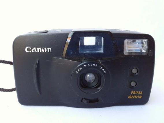Antiga Câmera Fotográfica Canon 9cod.4728)