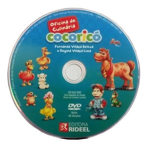Imagem 1 de 1 de Dvd Original Oficina De Culinária Cocoricó