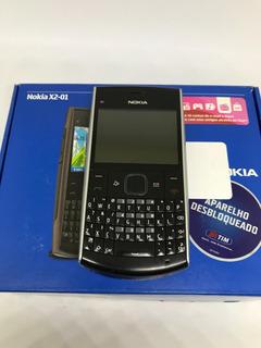 Nokia X2-01 X2 - Só Funciona Tim - Camera Qwerty X2 - Usado