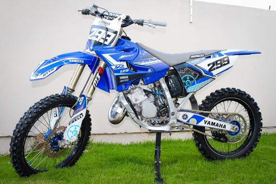 Yamaha Yz 125 2008 Oficial Com Kit Athena 144cc