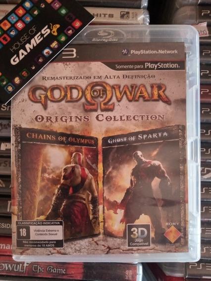God Of War Origins Ps3 Mídia Física Usado, Completo