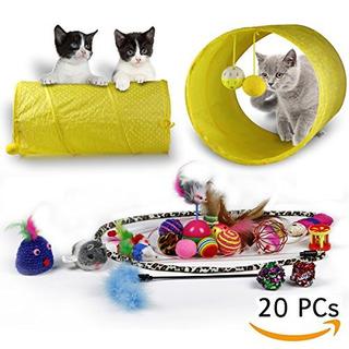 Juguete Para Gatos Rio Direct Kitten Variety Pack - Tunnel