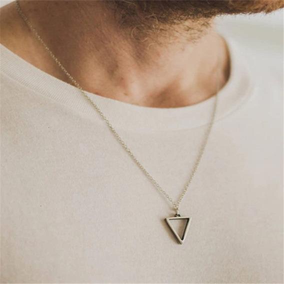 Colar Masculino Com Triangulo