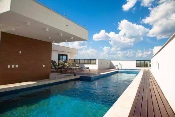 Apartamento Em Centro (visconde De Itaboraí), Itaboraí/rj De 40m² 1 Quartos À Venda Por R$ 155.000,00 - Ap382548